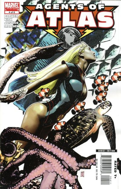 Cover for Agents of Atlas (Marvel, 2006 series) #4