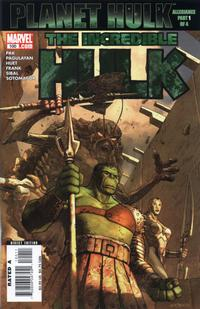 Cover Thumbnail for Incredible Hulk (Marvel, 2000 series) #100
