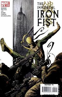 Cover Thumbnail for The Immortal Iron Fist (Marvel, 2007 series) #2