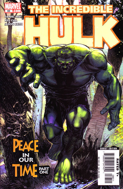 Cover for Incredible Hulk (Marvel, 2000 series) #88