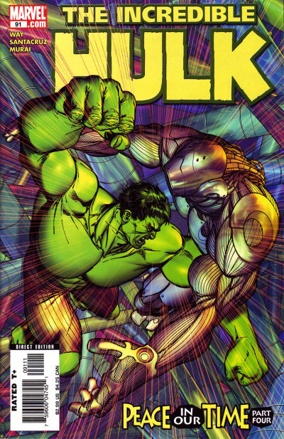 Cover for Incredible Hulk (Marvel, 2000 series) #91