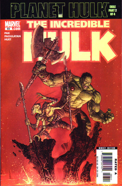 Cover for Incredible Hulk (Marvel, 2000 series) #93