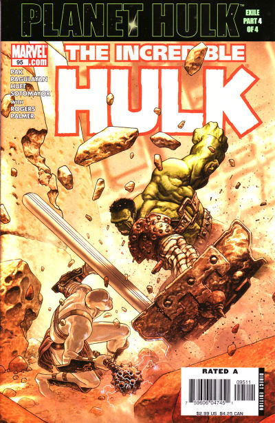 Cover for Incredible Hulk (Marvel, 2000 series) #95