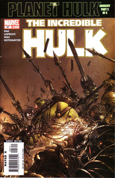 Cover for Incredible Hulk (Marvel, 2000 series) #97