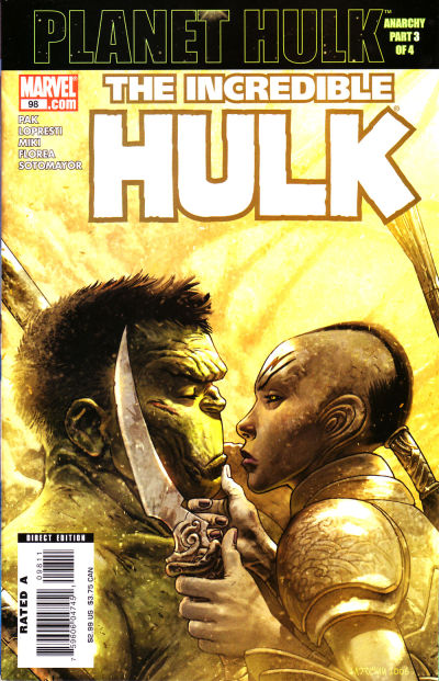 Cover for Incredible Hulk (Marvel, 2000 series) #98