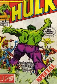 Cover Thumbnail for De verbijsterende Hulk Special (JuniorPress, 1983 series) #1