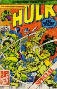 Cover Thumbnail for De verbijsterende Hulk Special (JuniorPress, 1983 series) #3
