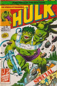 Cover Thumbnail for De verbijsterende Hulk Special (JuniorPress, 1983 series) #5