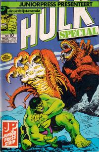 Cover Thumbnail for De verbijsterende Hulk Special (JuniorPress, 1983 series) #10