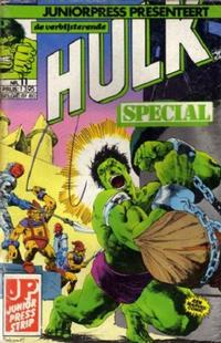 Cover Thumbnail for De verbijsterende Hulk Special (JuniorPress, 1983 series) #11