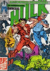 Cover Thumbnail for De verbijsterende Hulk Special (JuniorPress, 1983 series) #21