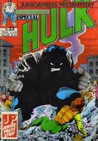 Cover Thumbnail for De verbijsterende Hulk Special (JuniorPress, 1983 series) #22