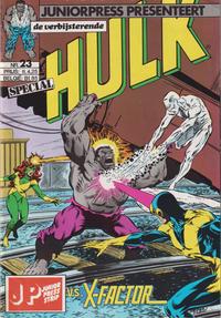 Cover Thumbnail for De verbijsterende Hulk Special (JuniorPress, 1983 series) #23