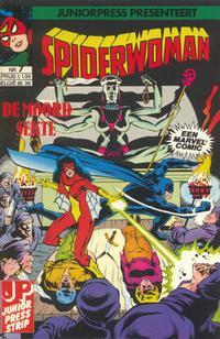 Cover Thumbnail for Spiderwoman (JuniorPress, 1982 series) #7
