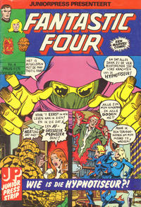 Cover Thumbnail for Fantastic Four (JuniorPress, 1979 series) #4