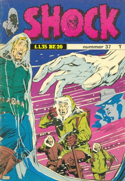Cover for Shock Classics (Classics/Williams, 1972 series) #37