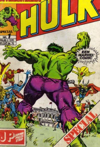 Cover for De verbijsterende Hulk Special (JuniorPress, 1983 series) #1