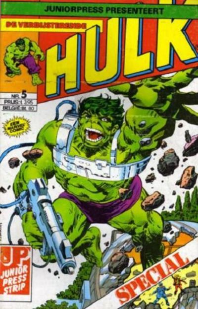 Cover for De verbijsterende Hulk Special (JuniorPress, 1983 series) #5