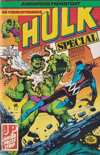 Cover for De verbijsterende Hulk Special (JuniorPress, 1983 series) #7