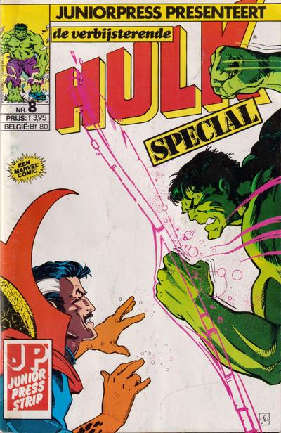 Cover for De verbijsterende Hulk Special (JuniorPress, 1983 series) #8