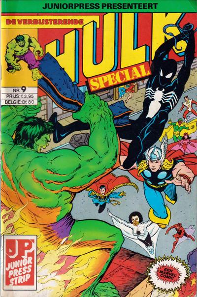Cover for De verbijsterende Hulk Special (JuniorPress, 1983 series) #9