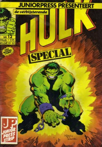 Cover for De verbijsterende Hulk Special (JuniorPress, 1983 series) #12