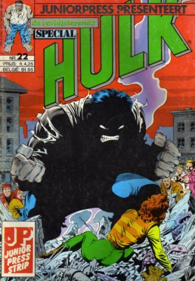 Cover for De verbijsterende Hulk Special (JuniorPress, 1983 series) #22