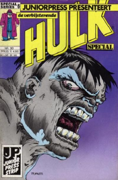 Cover for De verbijsterende Hulk Special (JuniorPress, 1983 series) #30