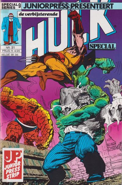 Cover for De verbijsterende Hulk Special (JuniorPress, 1983 series) #31