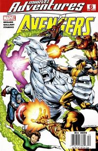 Cover Thumbnail for Marvel Adventures The Avengers (Marvel, 2006 series) #6 [Newsstand Edition]