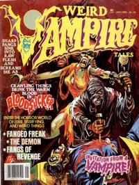 Cover Thumbnail for Weird Vampire Tales (Eerie Publications, 1979 series) #v3#4