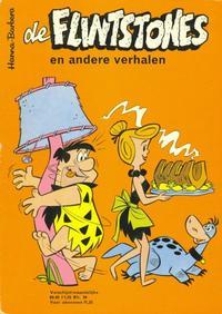 Cover Thumbnail for Flintstones en andere verhalen (Geïllustreerde Pers, 1963 series) #5/1969