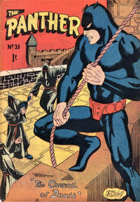 Cover Thumbnail for Paul Wheelahan's The Panther (Young's Merchandising Company, 1957 series) #21