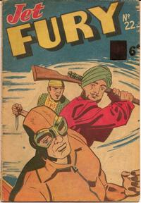 Cover Thumbnail for Jet Fury (Pyramid, 1950 series) #22