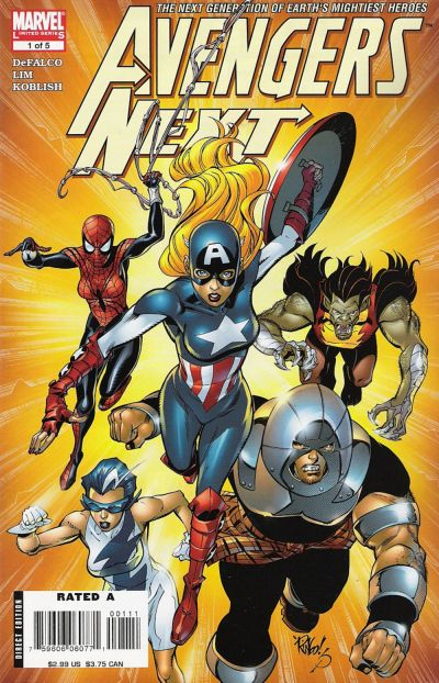 Cover for Avengers Next (Marvel, 2007 series) #1