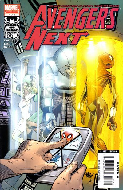 Cover for Avengers Next (Marvel, 2007 series) #4
