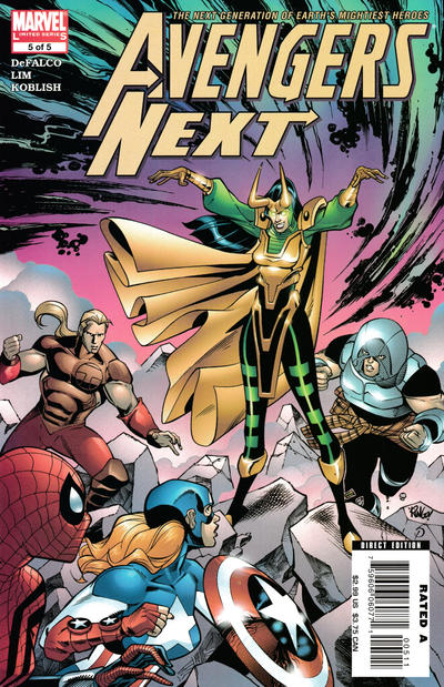 Cover for Avengers Next (Marvel, 2007 series) #5