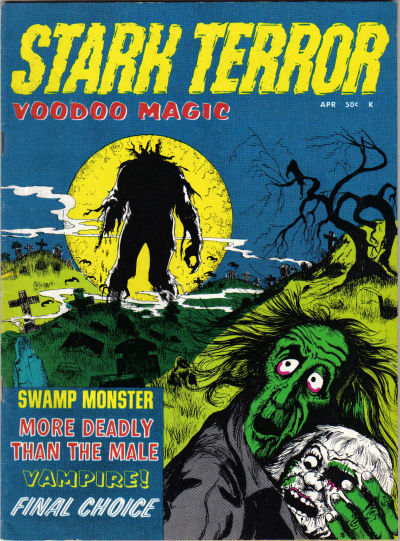 Cover for Stark Terror (Stanley Morse, 1970 series) #3
