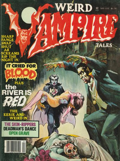 Cover for Weird Vampire Tales (Eerie Publications, 1979 series) #v3#1