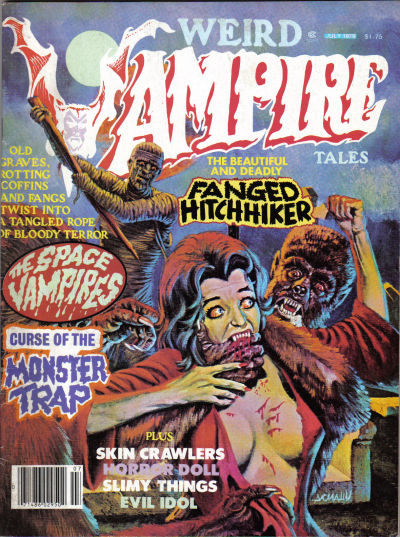 Cover for Weird Vampire Tales (Eerie Publications, 1979 series) #v3#2