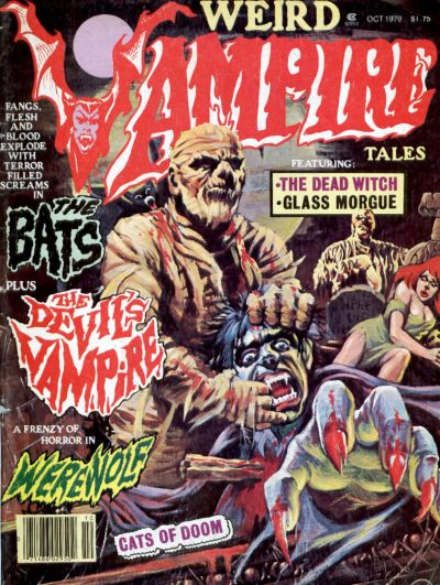 Cover for Weird Vampire Tales (Eerie Publications, 1979 series) #v3#3