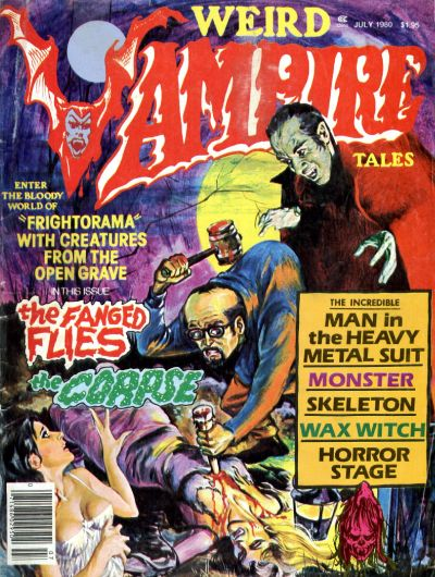 Cover for Weird Vampire Tales (Eerie Publications, 1979 series) #v4#3