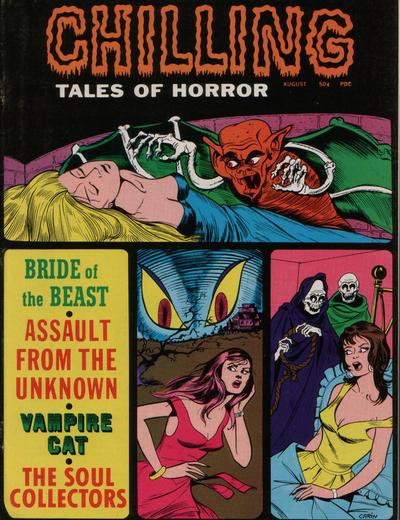 Cover for Chilling Tales of Horror (Stanley Morse, 1969 series) #v2#4