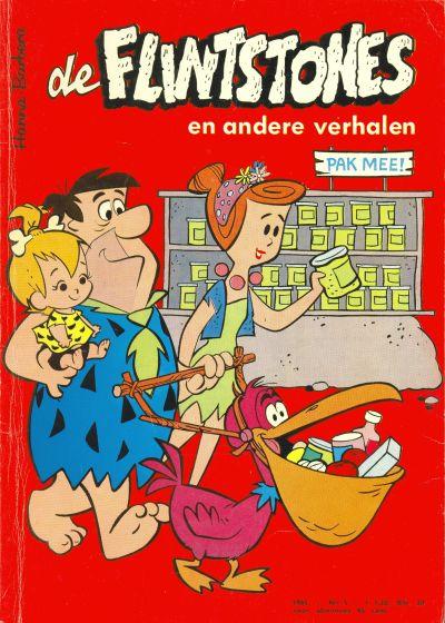 Cover for Flintstones en andere verhalen (Geïllustreerde Pers, 1963 series) #5/1965
