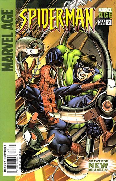Cover for Marvel Age Spider-Man (Marvel, 2004 series) #2