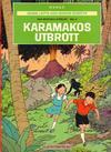 Cover for Johan, Lotta och Jockos äventyr (Illustrationsförlaget, 1971 series) #2 - Den mystiska strålen del 2: Karamakos utbrott