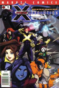 Cover Thumbnail for X-Men: Evolution (Marvel, 2002 series) #1 [Newsstand Edition]