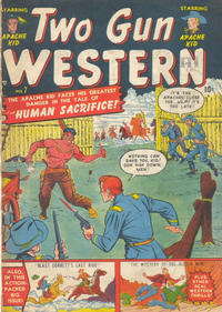 Cover Thumbnail for Two Gun Western (Bell Features, 1950 series) #7