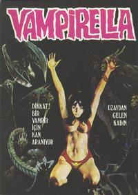 Cover for Vampirella (Mehmet K. Benli, 1976 series) #2