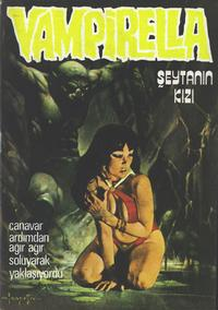 Cover Thumbnail for Vampirella (Mehmet K. Benli, 1976 series) #8